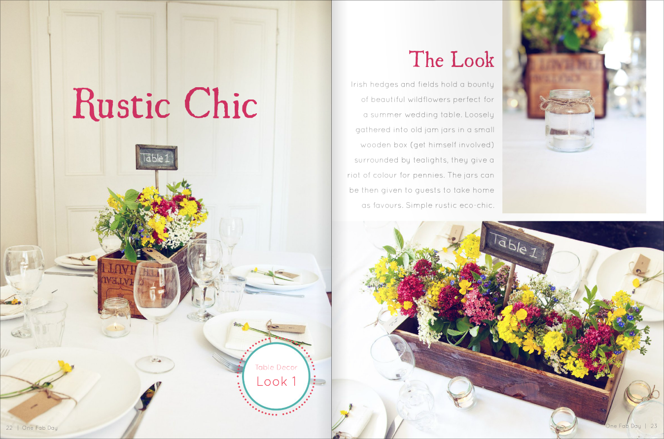 One Fab Day Magazine - Table Decor shoot - Michelle Kenna